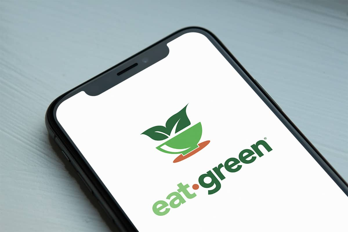 EatGreen Mobile Sign In