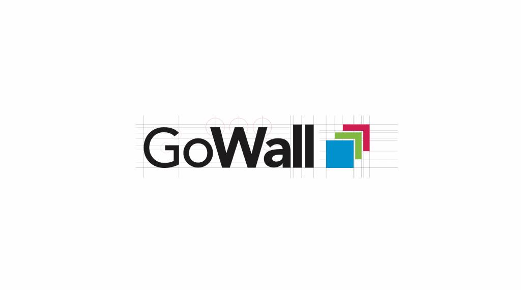 GoWall Logo Design