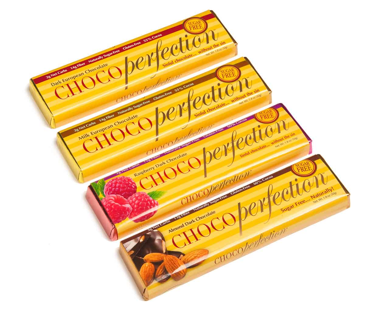ChocoPerfection Four Flavors Chocolate Bars