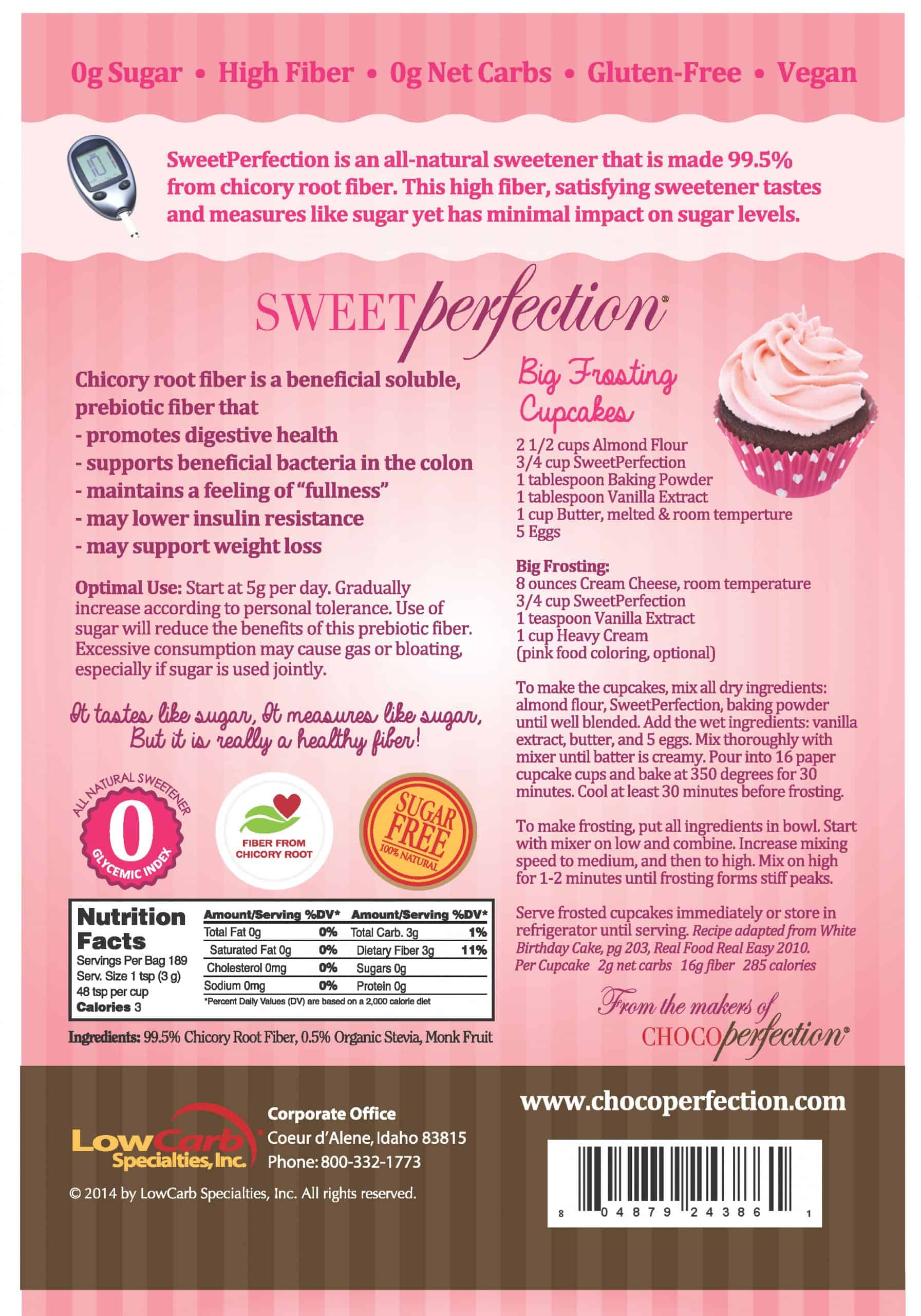 SweetPerfection Package - Back
